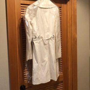 Via Spiga Jackets & Coats - White Via Spiga Trench Coat!